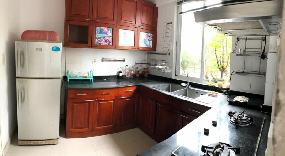 Phòng bếp căn hộ chung cư Mỹ Khang Căn hộ chung cư Mỹ Khang tầng thấp view nội khu, hướng Tây.
