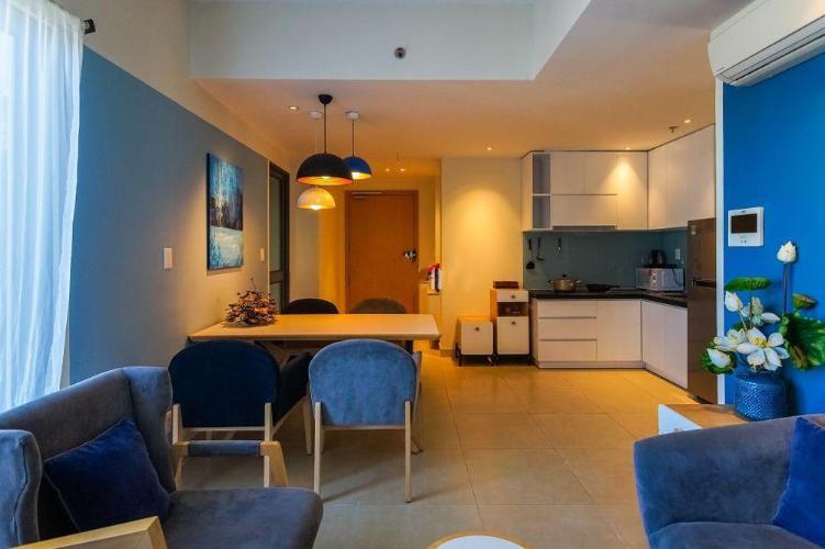 không gian nhà căn hộ Masteri Thảo Điền Căn hộ Masteri Thảo Điền nội thất gỗ cao cấp, view Thảo Điền và sông.