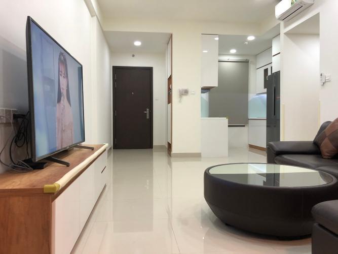 Căn hộ The Sun Avenue tầng trung, nội thất đầy đủ tiện nghi.