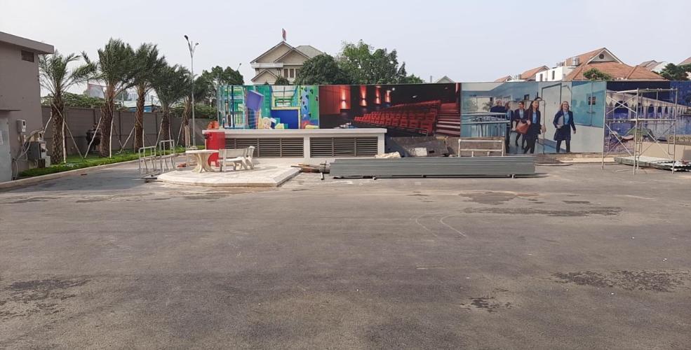 view nhìn ra phía ngoài căn hộ sài gòn mia Cho thuê Shophouse Saigon Mia bình chánh, diện tích 107.91m2