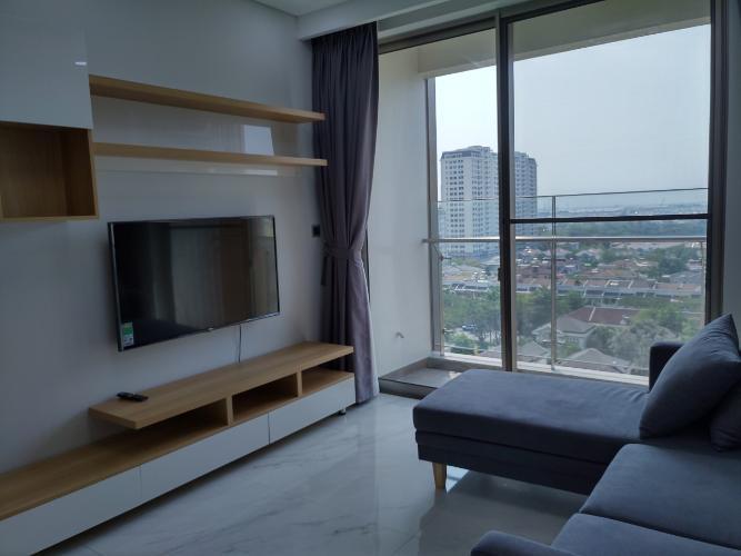 Phòng khách căn hộ PHÚ MỸ HƯNG MIDTOWN Bán hoặc cho thuê căn hộ Phú Mỹ Hưng Midtown 2PN, diện tích 88m2, đầy đủ nội thất, view khu biệt thự