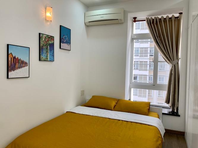 Phòng ngủ Sky Garden 3 Căn hộ tầng 6 Sky Garden 3 nội thất đầy đủ hiện đại