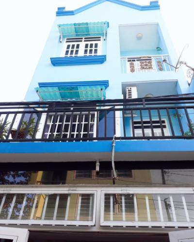 Nhà phố có 2 mặt tiền hẻm rộng 4m, ngay ngã 4 UBND phường Tân Thới Hiệp.