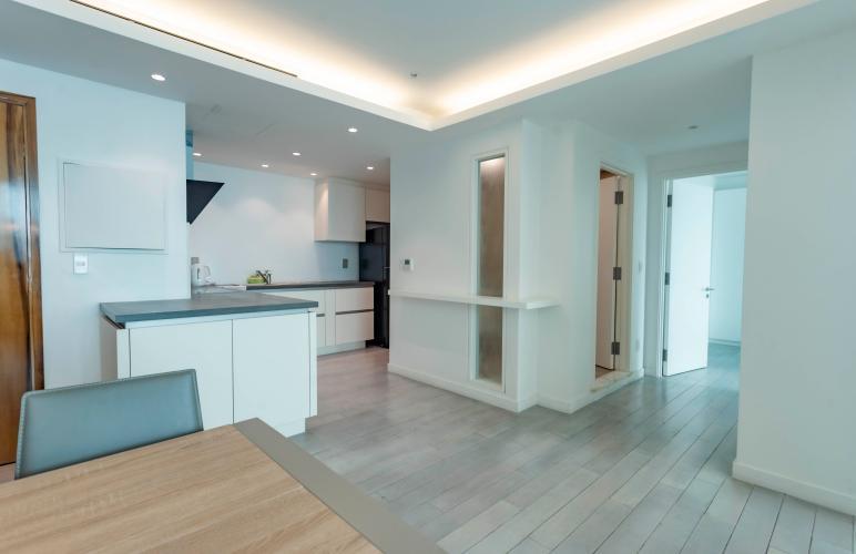 Căn hộ Léman Luxury Apartment tầng 19 view thoáng mát, đầy đủ nội thất.