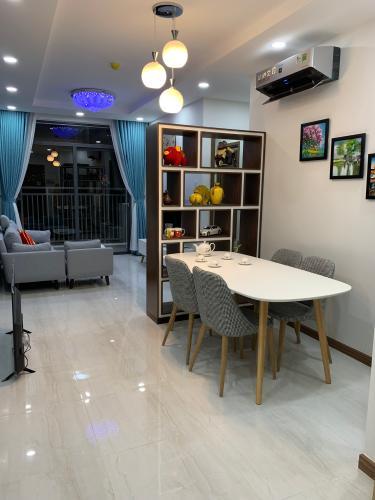 Căn hộ Him Lam Phú An tầng 3 thoáng mát, đầy đủ nội thất.