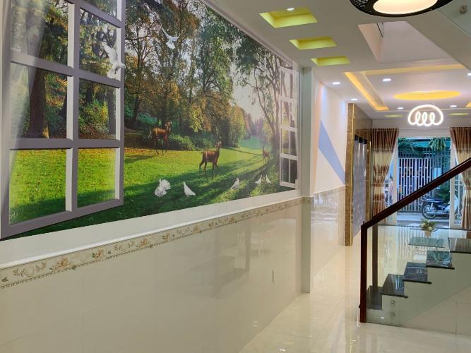 Phòng bếp nhà phố Nhà phố Bình Thạnh diện tích đất 59m2, hẻm trước nhà 6m.