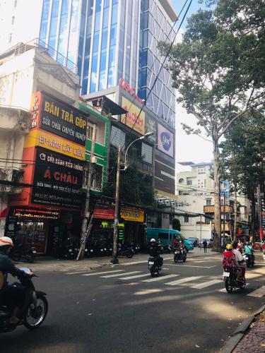Đường Trần Quang Khải Bán nhà phố cách Cầu Bông hơn 200m, sổ hồng đầy đủ, diện tích đất 25,47m2.