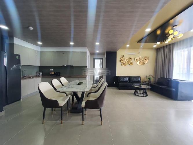 Không gian căn hộ River Panorama , Quận 7 Căn hộ tầng cao River Panorama hướng Đông Nam, đầy đủ nội thất.