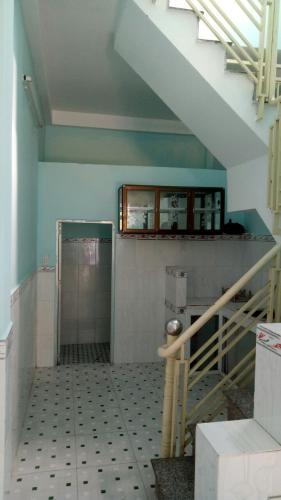 Phòng bếp nhà phố Nhà phố Bình Tân diện tích sử dụng 156m2, 1 trệt 1 lầu.