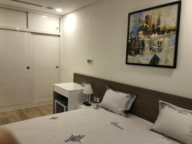 Phòng ngủ Vinhomes Central Park Căn hộ Vinhomes Central Park, tầng trung đầy đủ nội thất