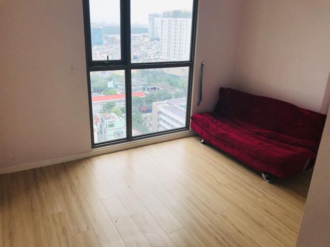 Phòng ngủ Masteri Millennium Quận 4 Căn hộ Masteri Millennium tầng 17, nội thất cơ bản.
