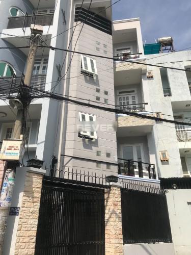 Nhà 1 trệt 3 lầu gần Lottemart Nguyễn Văn Lượng, hướng Tây Nam.