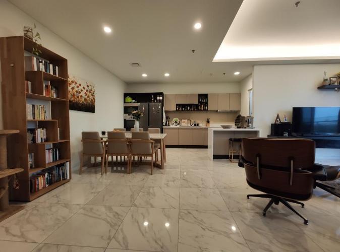 Căn hộ tầng 4 Sarica Condominium hướng Tây, đầy đủ nội thất.