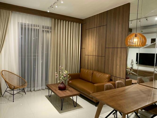 không gian căn hộ Estella Heights Căn hộ Estella Heights hướng Tây Bắc, nội thất đầy đủ.