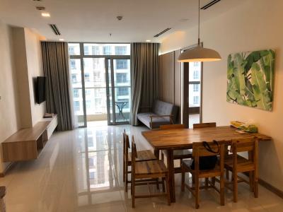 Căn hộ tầng 31 tháp Park 1 Vinhomes Central Park nội thất đầy đủ