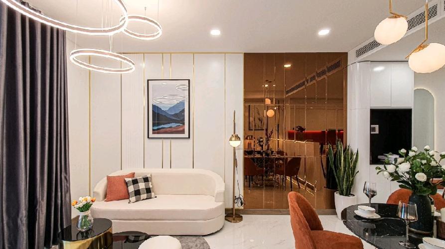 Căn hộ tầng cao Sunwah Pearl thiết kế sang trọng, đầy đủ nội thất.