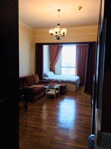 Căn hộ The Manor đầy đủ nội thất, thiết kế sang trọng.
