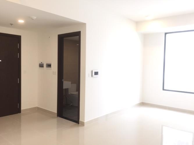 Office-tel The Tresor tầng 13 thiết kế hiện đại, không có nội thất.