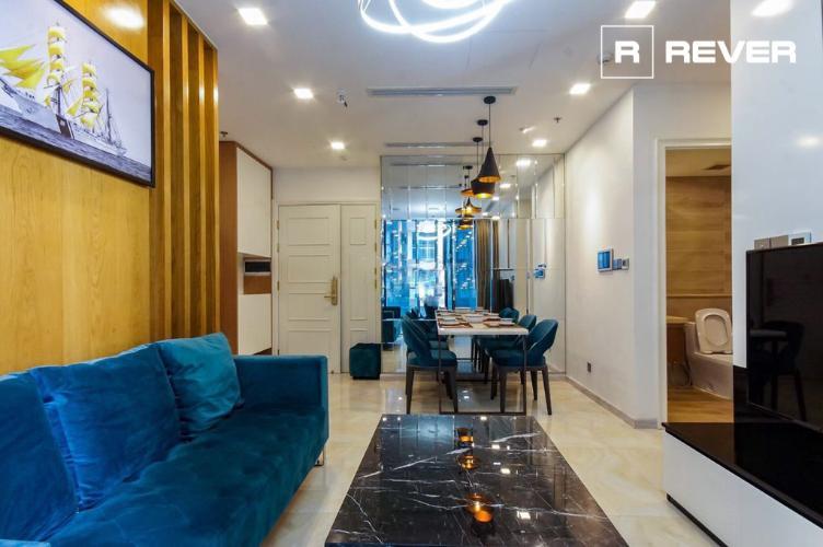 Căn Officetel Vinhomes Golden River tầng thấp, đầy đủ nội thất.