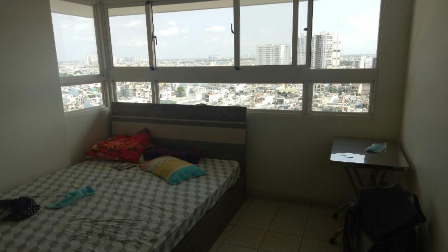 Phòng ngủ căn hộ An Phú Apartment, Quận 6 Căn hộ An Phú Apartment tầng 14 view thoáng mát, nội thất cơ bản.
