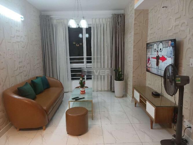 Căn hộ chung cư Central Plaza tầng trung, đầy đủ tiện nghi.