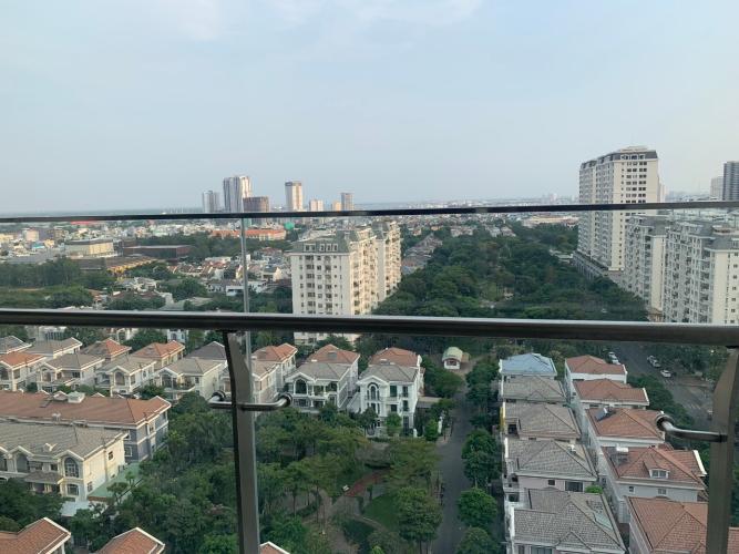 View căn hộ Midtown  Căn hộ Phú Mỹ Hưng Midtown view 180 độ thoáng mát.