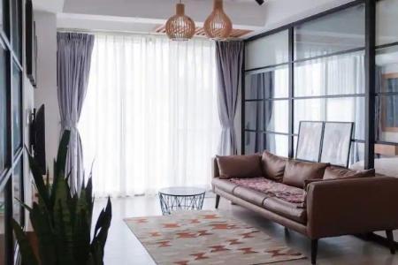 Căn hộ Happy Residence view thoáng mát, nội thất tiện nghi.