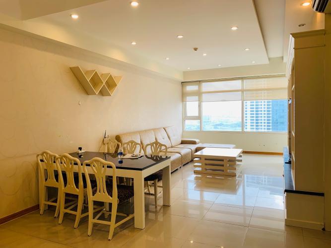 Căn hộ Saigon Pearl, Quận Bình Thạnh Căn hộ có 2 phòng ngủ Saigon Pearl tầng 19, đầy đủ nội thất.