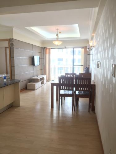 Căn hộ tầng 12 Cantavil An Phú cửa chính hướng Tây Bắc, đầy đủ nội thất.