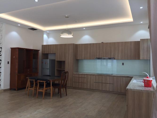 Phòng bếp nhà phố Quận 7 Nhà phố mặt tiền tại KDC Cityland Riverside, diện tích sử dụng 1000m2.