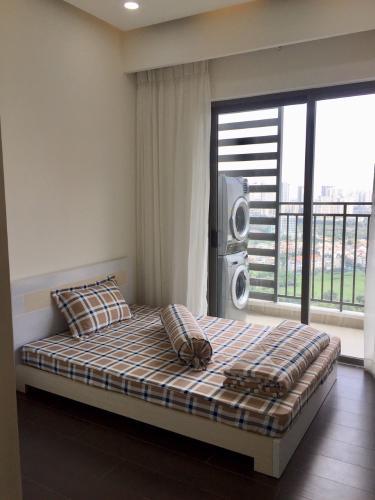 phòng ngủ nhìn ra view tp Căn hộ 3 phòng ngủ 90m2 The Sun Avenue - Block 01