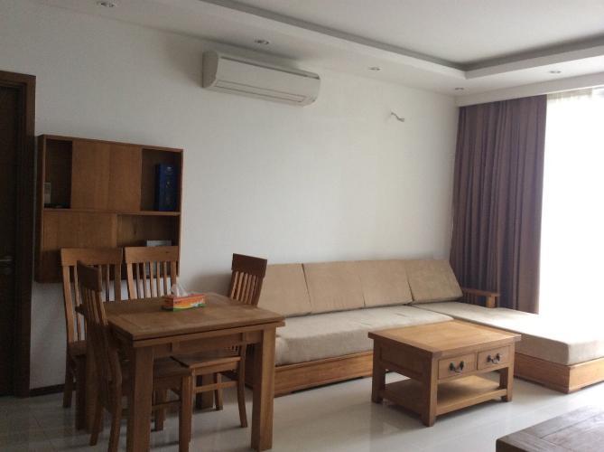 phòng khách căn hộ  2 phòng ngủ thảo điền pearl Căn hộ Thảo Điền Pearl tầng cao, đón view thành phố sầm uất