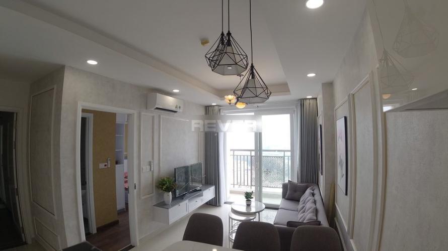 Căn hộ Saigon Mia tầng 16 view sông Sài Gòn mát mẻ, đầy đủ nội thất.