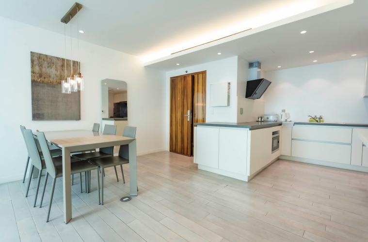 Căn hộ tầng cao Léman Luxury Apartments hướng Đông Nam, đủ tiện nghi.