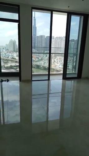 phòng khách Vinhomes Golden River Office-tel Vinhomes Golden River tầng trung, view sông 2PN