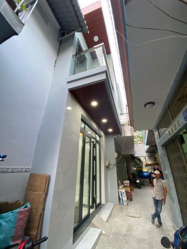 Hẻm nhà phố Tô Hiệu, Tân Phú Nhà phố hướng Bắc hẻm 3m, vừa mới xây thiết kế thông minh.