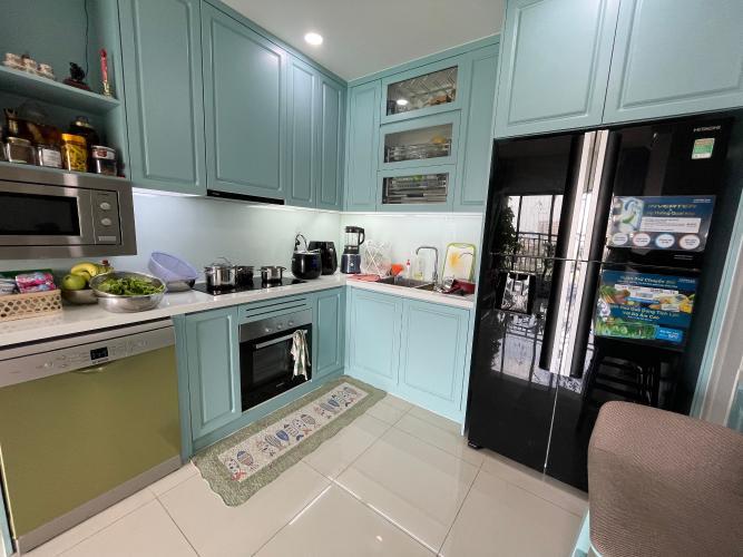 bếp căn hộ The Sun Avenue Căn hộ The Sun Avenue hướng  Tây Bắc, đầy đủ nội thất.