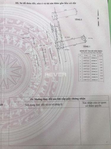 Bản vẻ nhà phố Quận Bình Tân Nhà phố Q.Bình Tân hướng Đông Bắc diện tích 79m2, sổ hồng riêng.