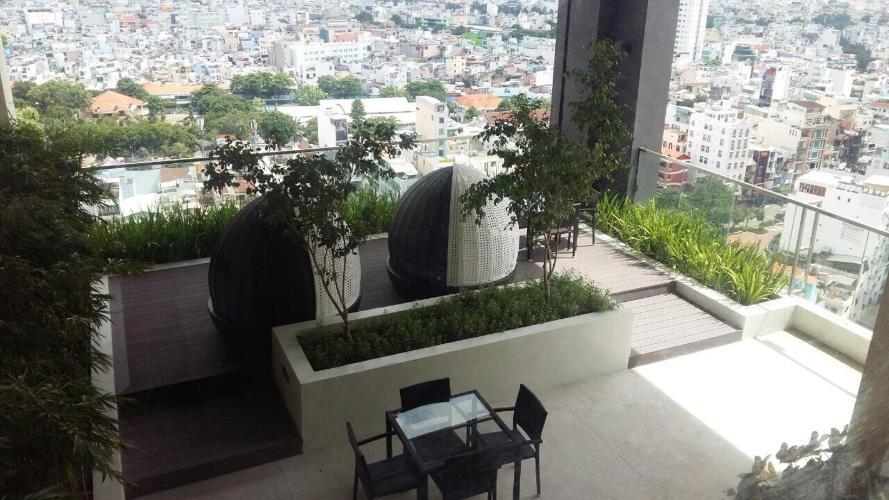 Căn hộ HaDo Centrosa Garden quận 10 Căn hộ HaDo Centrosa Garden tầng 20, nội thất đầy đủ hiện đại