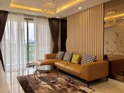 Cho thuê căn hộ Phú Mỹ Hưng Midtown tầng trung, ban công thoáng mát.