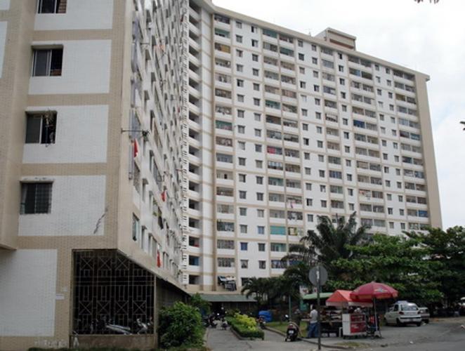 Căn hộ An Phú Apartment, Quận 6 Căn hộ An Phú Apartment tầng 14 view thoáng mát, nội thất cơ bản.
