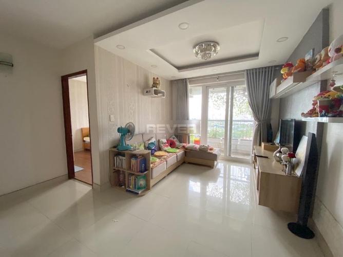Căn hộ Tân Hương Tower tầng 21 view thoáng mát, nội thất cơ bản.