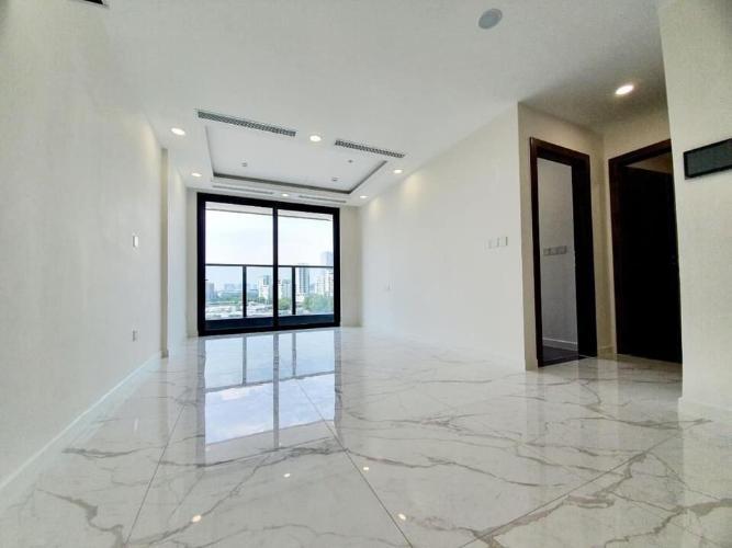 Căn hộ có 2 phòng ngủ Sunshine City Saigon tầng 17, đầy đủ nội thất.