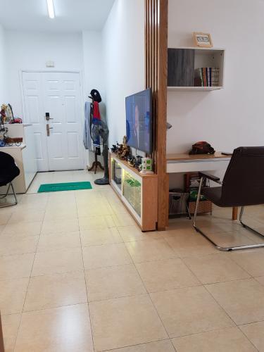 Căn hộ Chung cư Thế Hệ Mới tầng thấp, nội thất cơ bản.