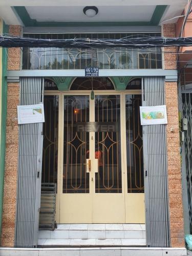 Nhà phố Quận 3 Nhà phố kết cấu 1 trệt 2 lầu diện tích 18.75m2, không nội thất.