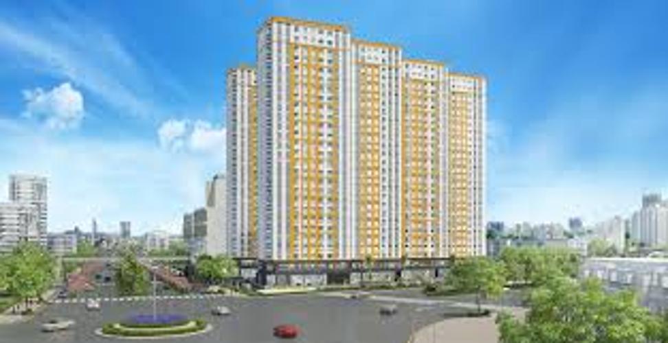 building căn hộ city gate Căn hộ tầng trung City Gate view đại lộ, đầy đủ nội thất.