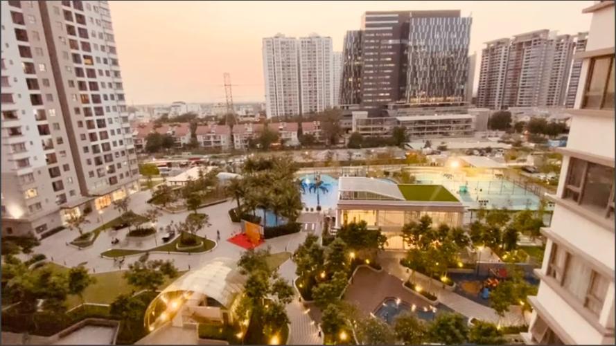 View Căn hộ Saigon South Residence tầng thấp, đầy đủ nội thất