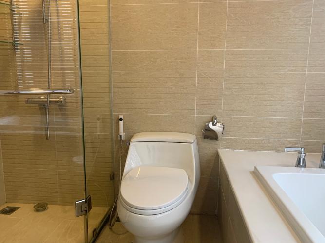 Phòng tắm Vinhomes Central Park Căn hộ Vinhomes Central Park view thành phố tuyệt đẹp.