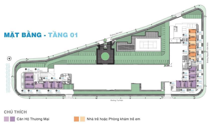 Shophouse One Verandah diện tích 80m2, gồm 1 trệt 1 lầu.