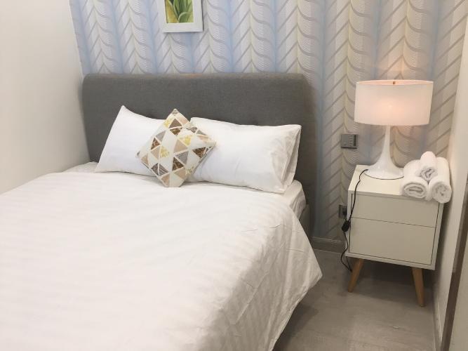 Phòng ngủ căn hộ Vinhomes Golden River Căn hộ Vinhomes Golden River tầng cao, đầy đủ nội thất.